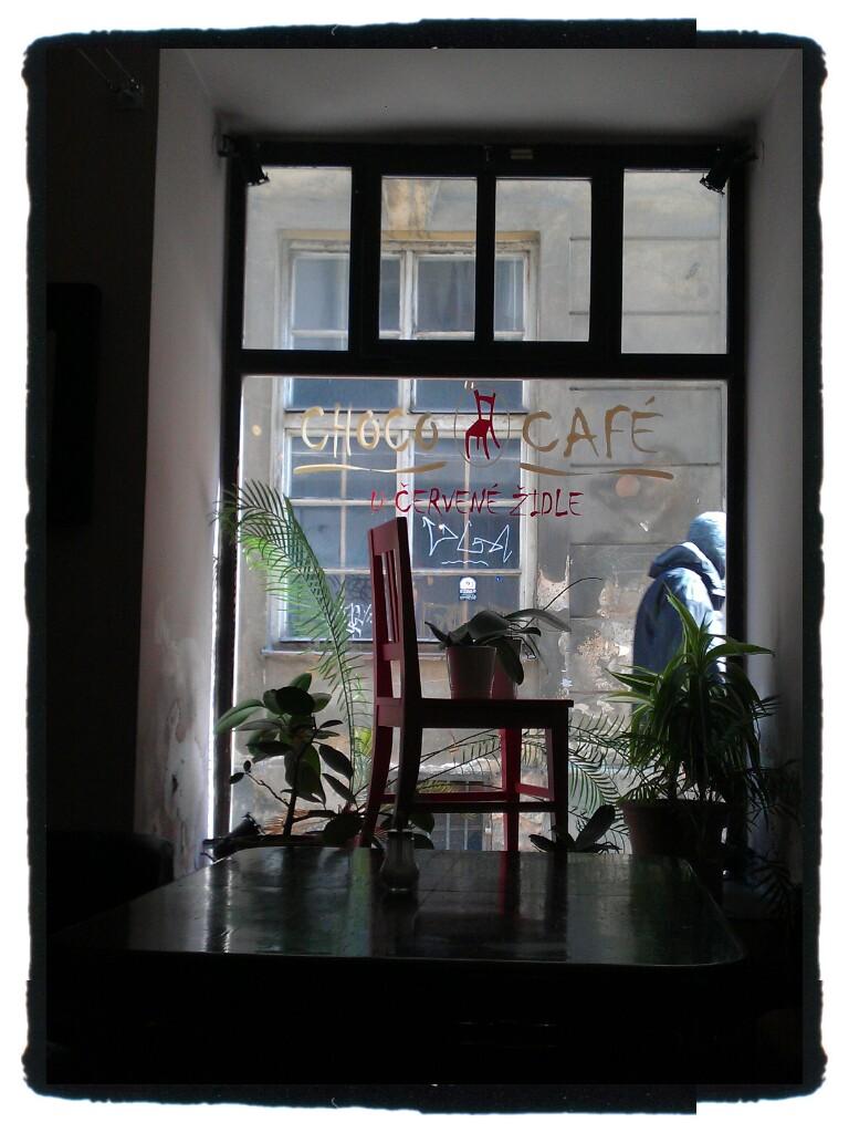 choco cafen näyteikkuna