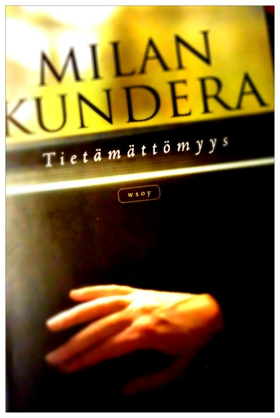 Milan Kundera Tietämättömyys