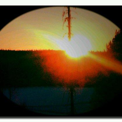 pääsiäisillan auringonlasku